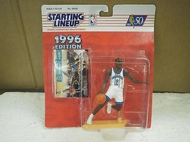 STARTING LINEUP- 1996 EDITION- LARRY JOHNSON- NEW ON THE CARD BASKETBALL... - $6.26