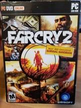 Farcry 2 Pc DVD-Rom 2008 Game Windows Far Cry - $4.99