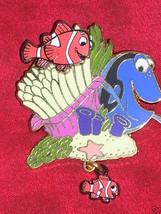 Finding Nemo Marlin Dory Dangler Disney Collectible Pin - $22.99