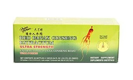 Prince of Peace Red Panax Ginseng Extractum Ultra Strength, 0.34 oz Each... - $14.33