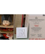 The Ashton-Drake Galleries CHEN Porcelain Doll Accessories Auth #9886E NEW - $19.80