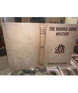 Hooded Hawk Mystery by Franklin Dixon Hardy Boys #34 Brown Tweed Orange ... - $5.93