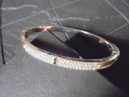 Fossil Bracelet With Pavè Of Swarovski Chrystals Original In Gift Box - $49.00