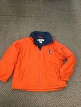 Illinois Fighting Illini Orange Columbia Winter Jacket Large Excellent Condtiin - $39.59