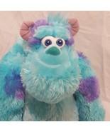 "Sully Standing Disney Pixar Monsters Inc Plush Stuffed Animal 13"" Blue P... - $14.99"