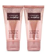 Two Bath & Body Works A Thousand Wishes Ultra Shea Body Cream Travel Siz... - $9.77