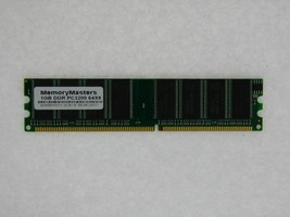 1GB PC3200 DDR 400 MHz Non ECC 184 pin Low Density DIMM RAM Memory