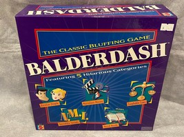 Balderdash by Mattel The Classic Bluffing Game Board Game Family Fun - $24.70