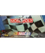 Monopoly Game Nascar Speedways Edition 1997 Parker Bros Pewter Tokens - $37.77