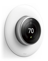 elago Wall Plate Cover for Nest Learning Thermostat [Matte White] for 1,... - €16,62 EUR