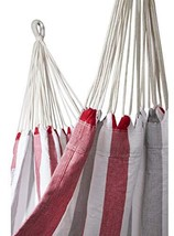 Sol Living EN-OL-BH001 Brazilian Double Hammocks, Red/White/Grey - $105.73