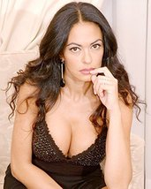 Maria Grazia Cucinotta Rare Color 16x20 Canvas Giclee huge cleavage - $69.99