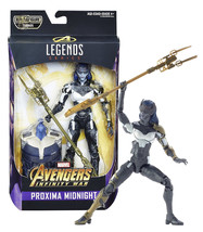 "Marvel Legends Series Proxima Midnight 6"" Figure with Thanos BAF Mint in... - $24.88"