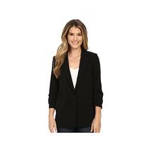 Michael Kors Women's New Boyfriend Blazer, Black, 8 - $98.99