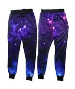 New Fashion Men's 3D Universe Space Galaxy Sport Trousers Running Jogger... - $24.48
