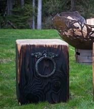 Cedar Creek Sculptures - Bold Timber Cube - Fire Pit Chair - Bench - Table - $325.00