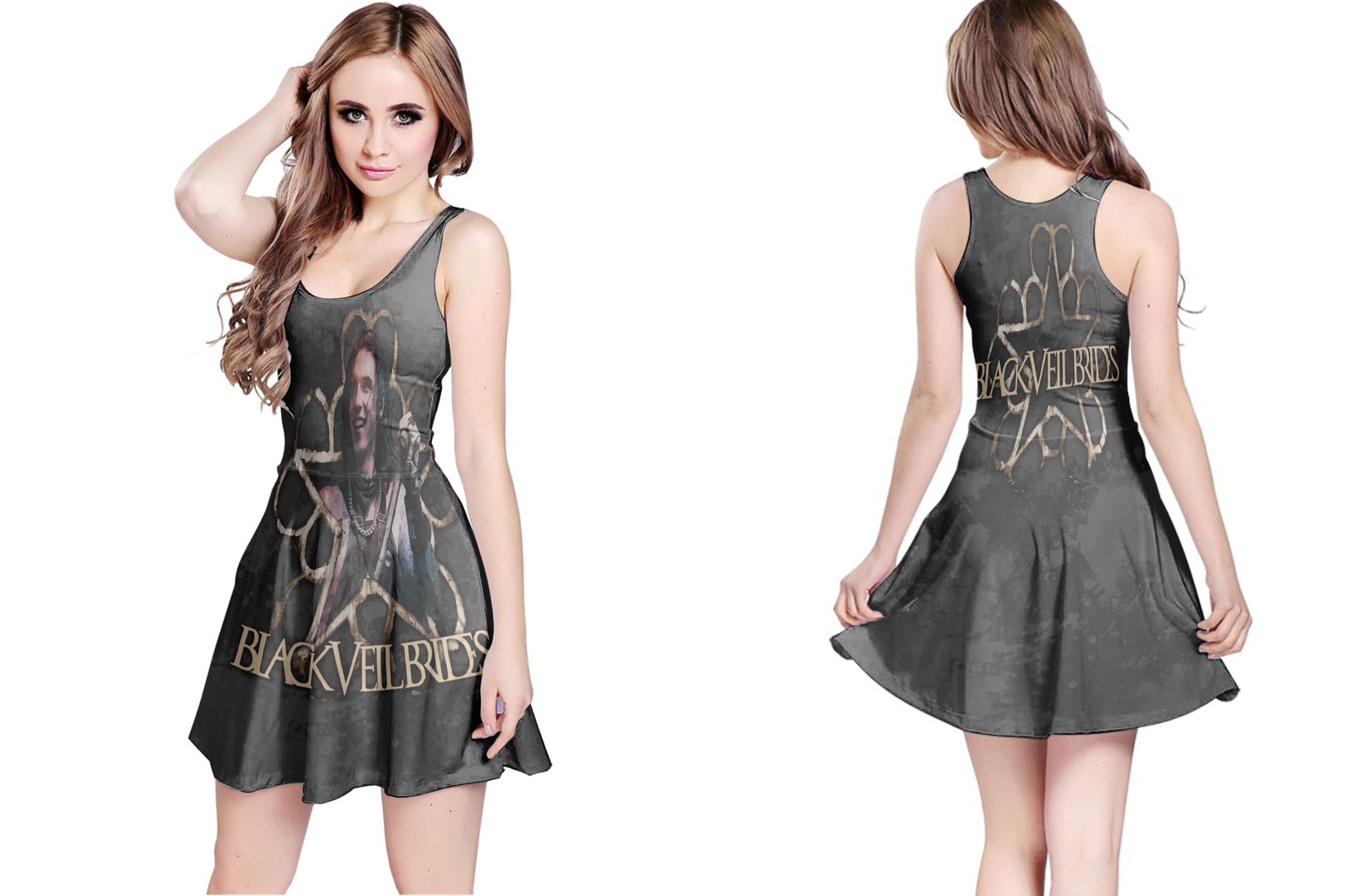Primary image for Black Veil Brides Collection #2 Women's Reversible Dress