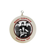 Personalized The Beatles Christmas Ornament Custom Gift #3 - $16.95