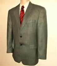 Ralph Lauren Sport Coat 41R Houndstooth Brown Black Blue Gray Silk Wool ... - $27.99