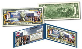 Space Shuttle ENTERPRISE Missions Official U.S $2 Bill NASA feat. STAR T... - $14.80