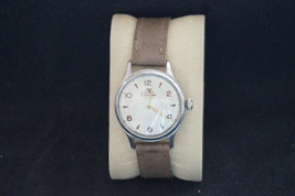 Vintage Mechanical Russian Watch Sportivnie White Dial 1st Moscow Factor... - $30.49