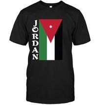 Jordan Jordanian Pride Sideways Flag T Shirt - $17.99+