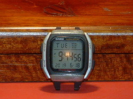 Pre-Owned Men's Black Casio W-96H Digital Watch (Module) - $11.12 CAD