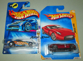 Lot of 2 Mattel Hot Wheels Cars - 2009 Fast FeLion & 2004 Mustang Funny ... - $14.46