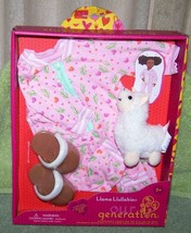 """Our Generation Llama Llullabies Outfit for Most 18"""" Dolls New - $16.50"""