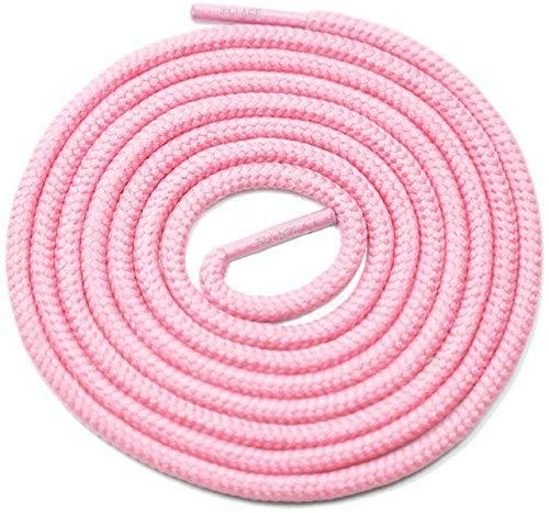 "Primary image for 54"" Pink 3/16 Round Thick Shoelace For All University Team Shoes"