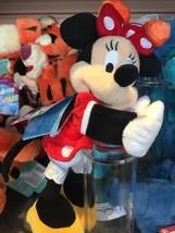 Disney Parks Minnie Mouse Snuggle Snapper Plush Slap On Bracelet New Wit... - $25.21