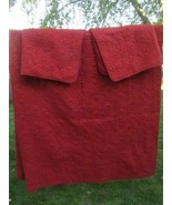 Madison Park Mansfield Red Reversible 3-PC King Quilted Coverlet Set - $69.00