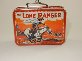 Hallmark 1997 The Lone Ranger Mini Tin Lunchbox Keepsake Ornament - $7.69