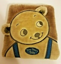 Tiny Bear's Bible by Sally Lloyd-Jones (2007, Board Book) Plush Furry Cover - $12.59