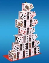 Card Castle - An Effective Climax To A Card Flourish or 6 Card Repeat Ro... - $19.79