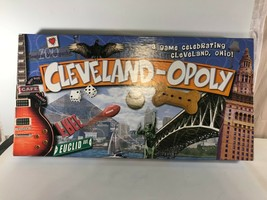 Cleveland-Opoly Cleveland An Ohio Themed Board Game Late for the Sky 2013 - $9.89