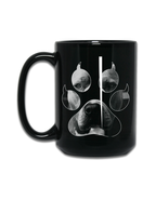 Pit Bull Terrier Owners Gift - Novelty Unique Coffee Mug - Dog Paw Print... - $15.79+