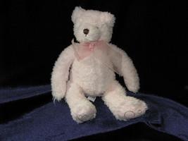 """Bath And & Body Works Pink Teddy Bear Stuffed Plush Cubby Small Mini B EAN Bag 7"""" - $23.75"""