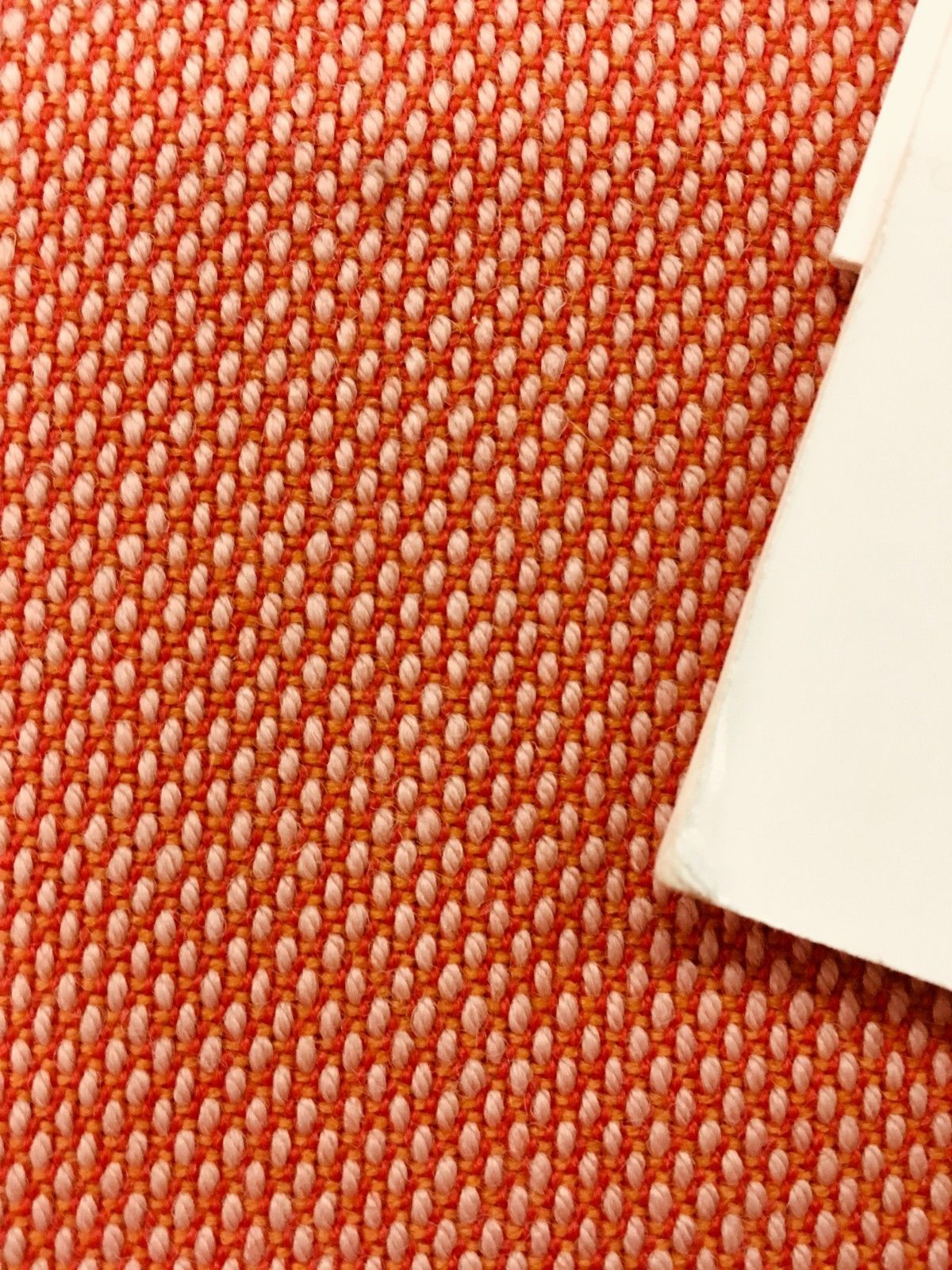 Maharam Upholstery Fabric Steelcut Trio Peach Wool 1.625 yds 465906 PH