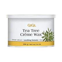 GiGi Tea Tree Creme Wax Antiseptic Formula 396g/14oz image 1