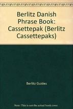 Berlitz Danish Phrase Book: Cassettepak (Berlitz Cassettepaks) (Danish E... - $5.53