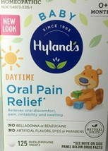 Hyland's Baby Daytime Oral Pain Relief 125 Quick Dissolve Tablets All Natural - $8.99