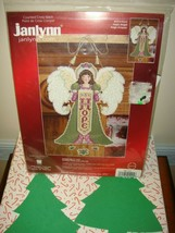 Janlynn Hope Angel Christmas Ornament Plastic Canvas Counted Cross Stitc... - $45.99