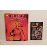 WCW: THE ULTIMATE GUIDE + WRESTLING SOFT COVER BOOK - FREE SHIPPING - $14.03