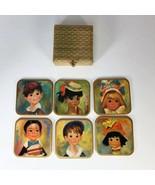 Vintage Win-el-ware Coasters Made In England  - $49.50