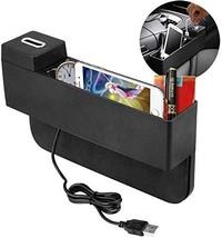 AUTDER Car Seat Pocket Gap Organizer Car Console Side Pocket Seat Crevice Storag