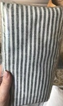 Pottery Barn Set 2 Wheaton King Shams Gray Striped Pair New - $69.50