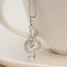 MUSIC CHARM NECKLACE  - $4.95
