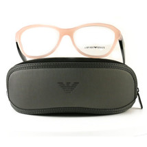 Emporio Armani EA3047 Eyeglasses 5327 Opal Pink Full Rim Plastic 54 16 140 - $57.00