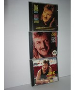 3 Joe Diffie CDs: Honky Tonk Attitude - Regular Joe - Third Rock from th... - $13.95
